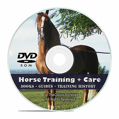 175 Books, Ultimate Library, Horse Racing, Horse Care, Training Guides DVD V44