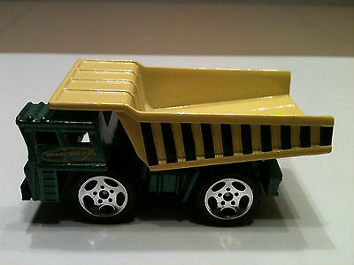 "VINTAGE 1989 MATCHBOX ALL METAL DUMP TRUCK 2 3/4"" LONG SCALE 1:140"