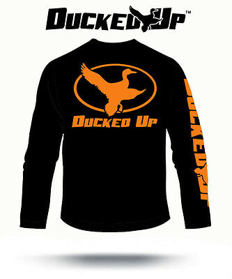 Ducked Up Apparel,duck hunting t shirt blind call decoy hunter funny dynasty