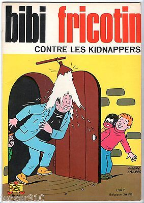BIBI FRICOTIN n°38 ¤ CONTRE LES KIDNAPPERS ¤ SPE 1967