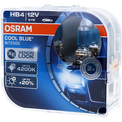 HB4 OSRAM Cool Blue Intense Stylischer Look Scheinwerfer Lamp DUO-Pack-Box NEU