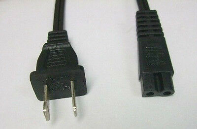 12ft - POWER CORD for Brother Singer SEWING MACHINE Replacement AC Cable