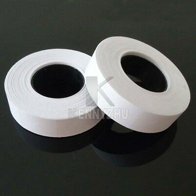 10pcs Rolls Double Row Price Label Price Tag Paper White For MX-6600 Labeller