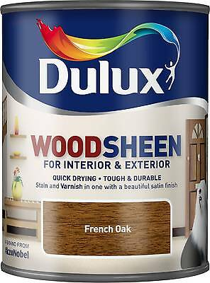 Dulux Woodsheen - French Oak - 750ml - Interior & Exterior - Woodstain