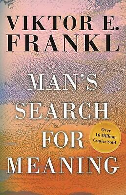 Man's Search for Meaning: by Viktor E. Frankl (English) Paperback Book Free Ship