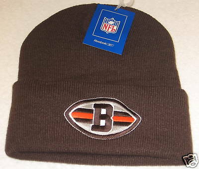 NFL Cleveland Browns Brown Cuffed Knit Hat By Reebok