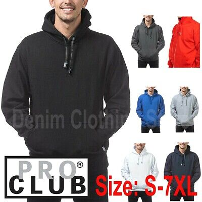 1 New Pro Club Heavy Weight Pullover Hoodie Sweatshirts Hooded Hoody Size S-7Xl