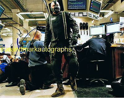 Tom Hardy Dark Knight Rises Bane Signed Photo B Autograph UACC RD 96