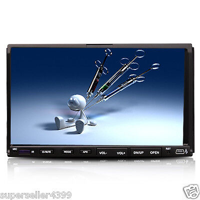"New Arrival IR 2 Din 7""Touch Screen Car Stereo DVD Player Radio USB SD Mp3 Audio"