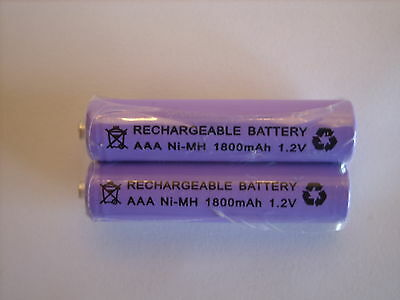 BT STUDIO 3100 3500 4100 4500 5100 5500 2x 1.2V 1800 mAh RECHARGEABLE BATTERIES