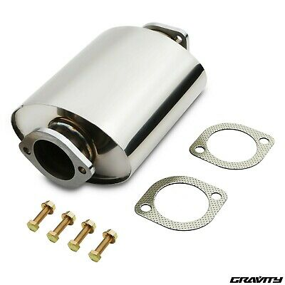 Silenced Stainless Exhaust Decat De Cat Pipe Nissan S13 S14 R32 R33 Db Killer