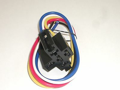 Philmore 64-1217 Automotive Relay Socket & Wire Wiring Harness