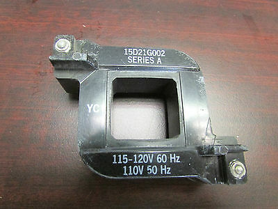 GE General Electric Coil 115/120V 15D21G002 series A