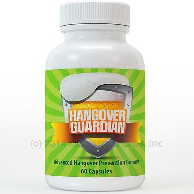 Hangover Guardian Pills Advanced Hang over Prevention Cure w/Charcoal