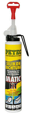 Pate a joint 200ml ROUGE PETEC PROFESSIONNEL MATIC HT 300°