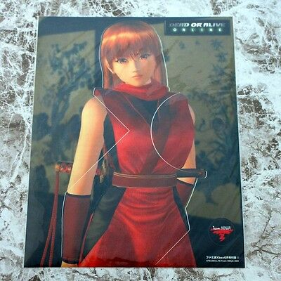 Dead Or Alive Online Xbox Famitsu Japan Dress Up Seat Sticker Kasumi NEW