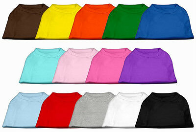 Dog Shirts (lot of 12) - Choose from lots of colors and sizes