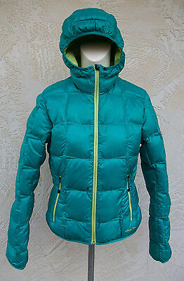 New Eddie Bauer First Ascent Womens Downlight Jacket Coat Ascent Blue NWT