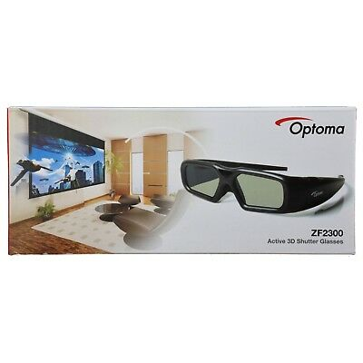 Optoma ZF2300 Active 3D Shutter Glasses for 3D Projector with 3D Sync VESA Port*