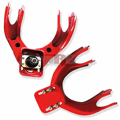 Civic 92-95 Del Sol 93-97 Integra 94-01 Front Camber Arm Kit Red CAM-CV92RD