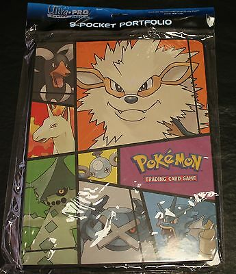 Ultra Pro Pokemon TCG 9 Pocket Portfolio Holds 90 Cards 10 High Clarity Pgs New