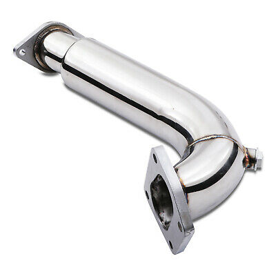 Stainless Race Exhaust De Cat Decat Downpipe For Fiat 500 1.4 Turbo Abarth 08-18