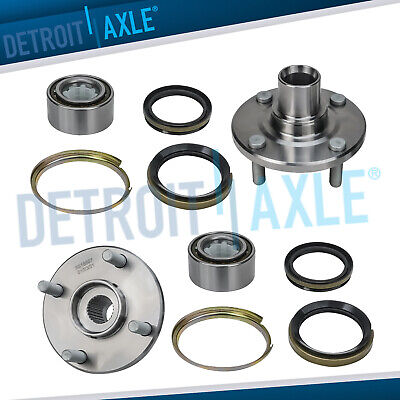 2 Front Wheel Bearing & Hub for 1998 - 2000 2001 2002 Toyota Corolla Geo Prizm