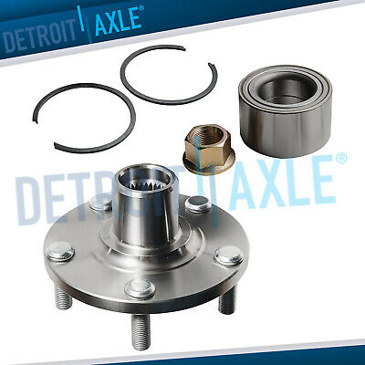 Front Wheel Hub and Bearing Assembly for 02-06 Nissan Altima V6/ 00-08 Maxima