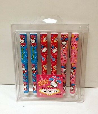 Pack of 5 Pieces - Hello Kitty Cap Pens + FREE SHIPPING!