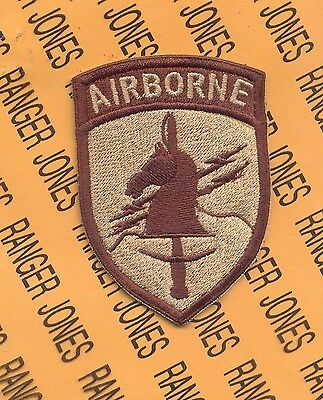 US Army Special Operations Command Korea Airborne PSY-OPS SOCKOR DESERT patch