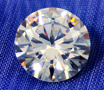 1 ct  Brilliant Round 6.5 mm  Top AAAAA Russian Quality CZ Moissanite Simulant