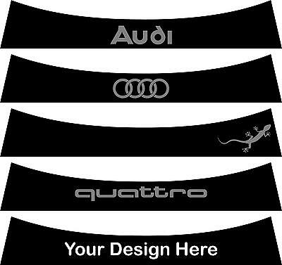 Sunstrip for a Audi A3  MK2 2003 to 2012 - pre cut, no trimming required