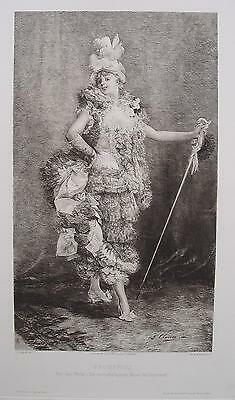 Georges Clairin Froufrou Frou-Frou Paris Oper Operette Theater Maxim Heesters