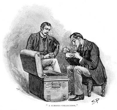 Sherlock Holmes print The Musgrave Ritual drawn by Sidney Paget