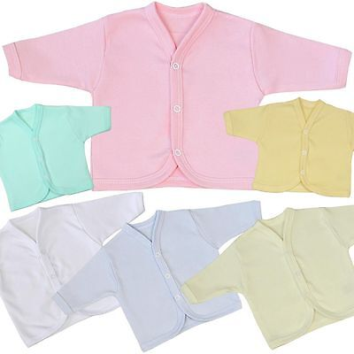 BabyPrem Premature - 6m Baby Clothes Cotton Cardigan Jacket Boys Girls Unisex