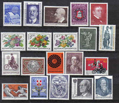 STAMPS   from  AUSTRIA    YEAR 1974  part 1  (MNH)  lot 899
