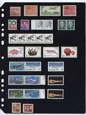 ANCHOR 100 New Stock Pages 8S (8-Rows) Sheets - (Black sheets)-Double sided...