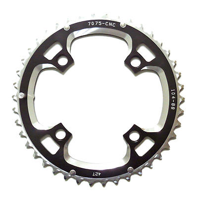gobike88 Driveline 9 10 speed black chainring 42T BCD 104mm, 78g, MTB, S75
