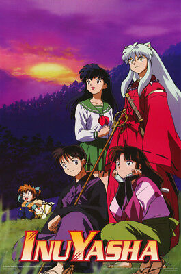 POSTER : ANIME MANGA:  InuYasha - SUNSET - FREE SHIPPING !     #3401      RC19 J
