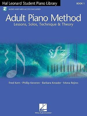 New HLSPL Adult Piano Method: Book 1 & OLA - Hal Leonard Student Piano Library