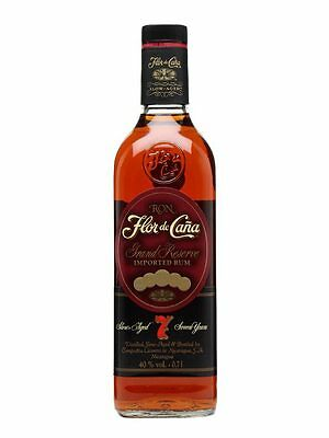 Flor de Cana 7 Year Old Grand Reserve Rum 700ml