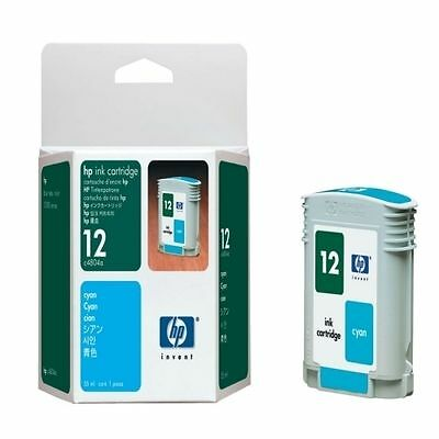 HP 12 (C4804A) Cyan Ink Cartridge