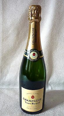 Free Fast Shipping Worldwide Bouteille Champagne Demi-Sec Reserve Veuve Durand