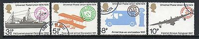 GB 1974 centenary of UPU Fine used set stamps