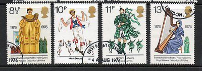 GB 1976 British Cultural Traditions fine used set stamps