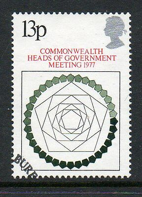GB 1977 Commonwealth Heads of Government meeting fine used stamp