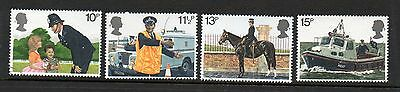 GB 1979 150th Anniversary of Metropolitan Police fine used set stamps