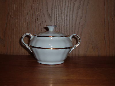 ALFRED MEAKIN CHINA TRADITIONAL IRONSTONE SUGAR BOWL WITH LID ENGLAND