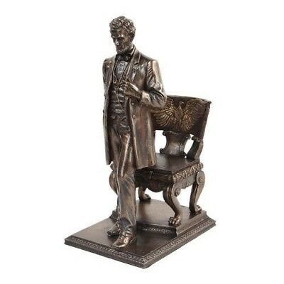 Sculpture Abraham Lincoln Museum Reproduction Statue Decor American President