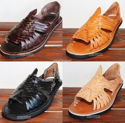 New Men's Mexican Sandals Authentic Huarache Sandals All Colors Huaraches Mexico